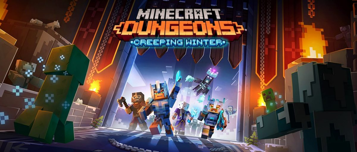 Minecraft Dungeons DLC Creeping Winter will be released September 8 thumbnail