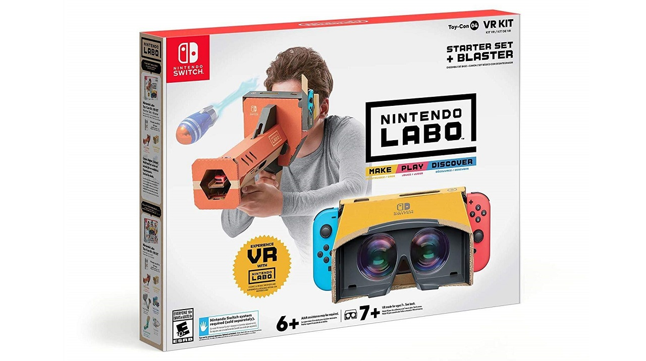 A Nintendo Labo VR Kit is now just $20 thumbnail