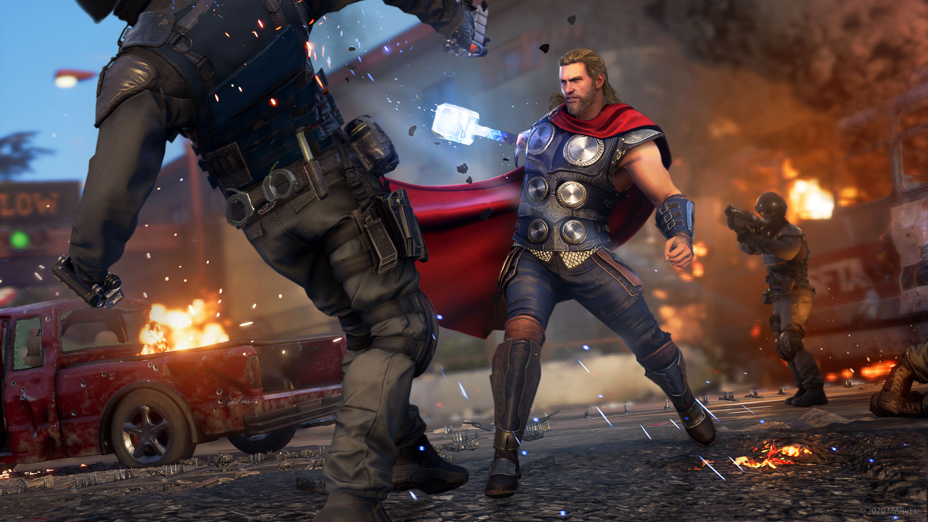 Marvel's Avengers beta start times: Everything you need to know about dates, pre-load, and content thumbnail
