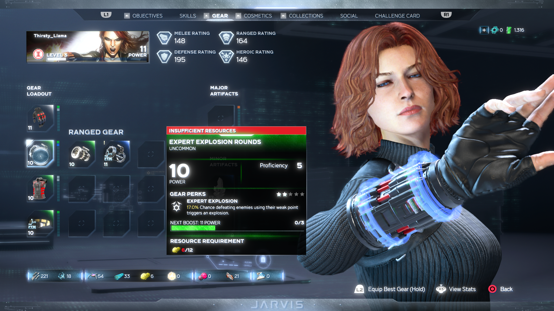 Marvel's Avengers Gear guide: How to gather resources and improve your equipment thumbnail