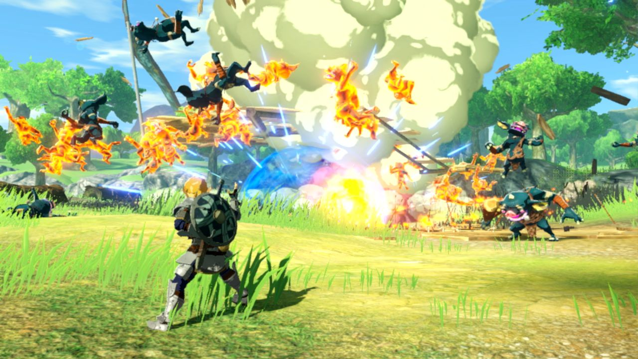 captura de pantalla de Age of Calamity en Nintendo Switch.