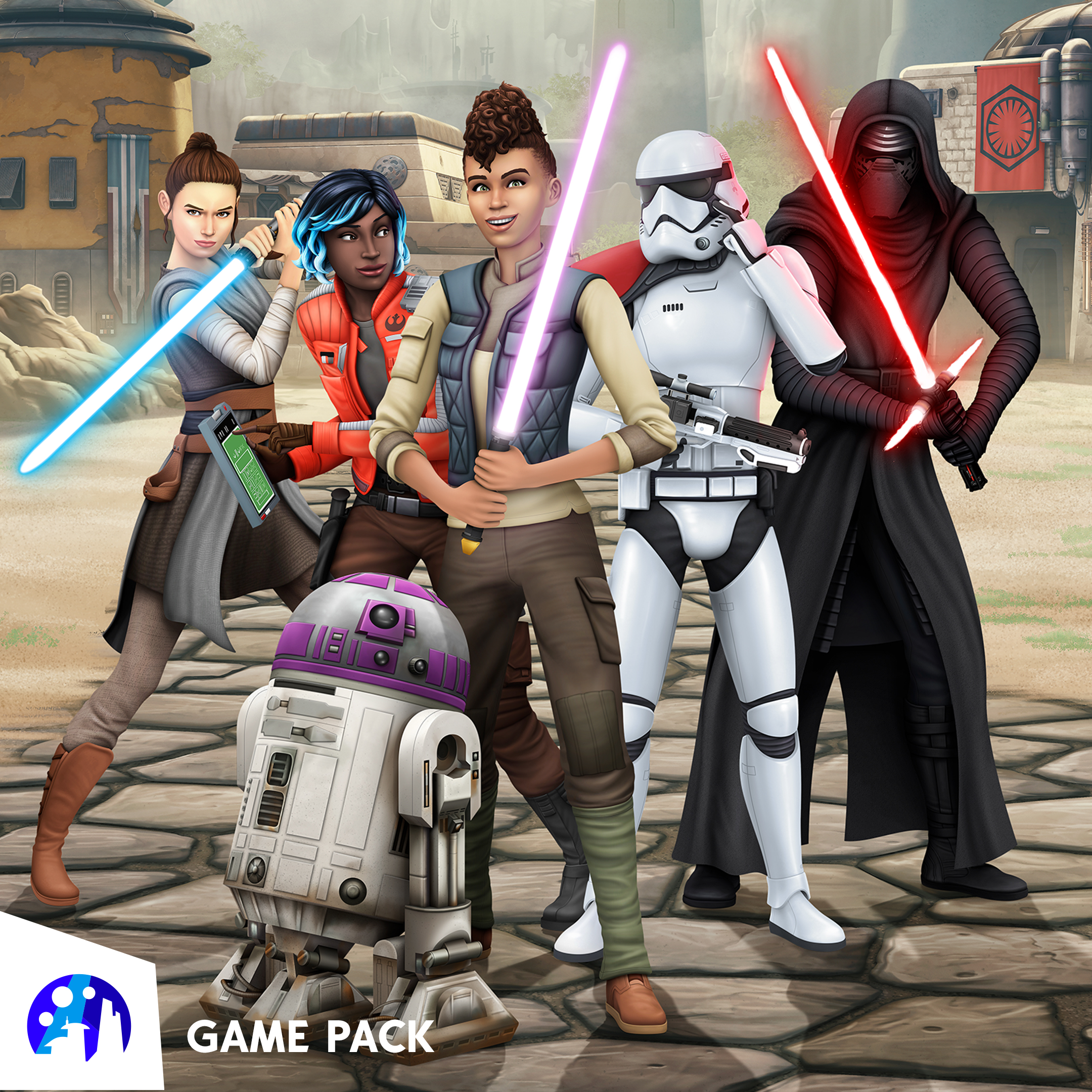 The Sims 4 Star Wars: Journey to Batuu gameplay shows how to create your own Star Wars story thumbnail