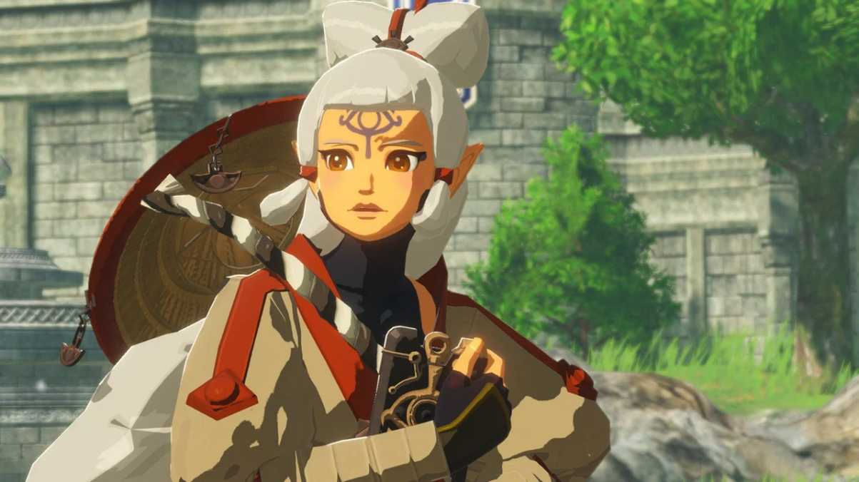 You can play as young Impa in Hyrule Warriors: Age of Calamity thumbnail