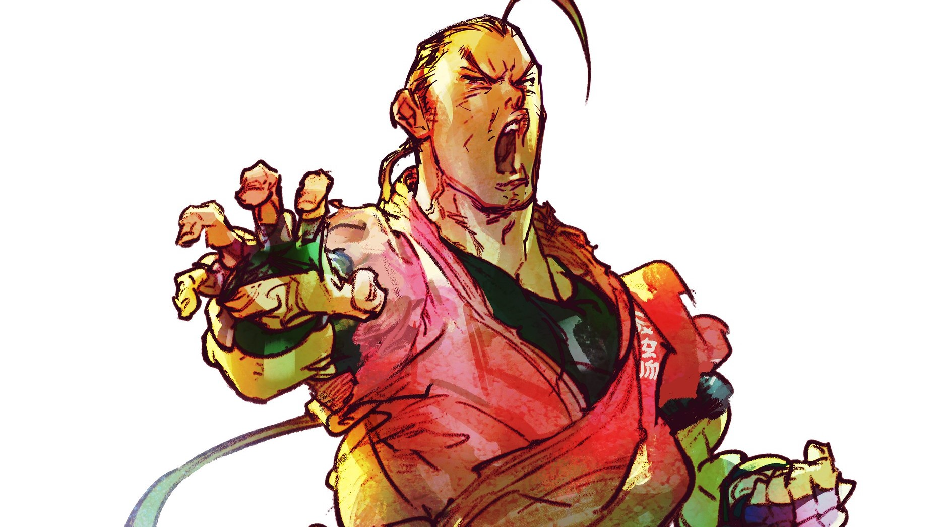Here's your first look at Dan Hibiki in Street Fighter V thumbnail