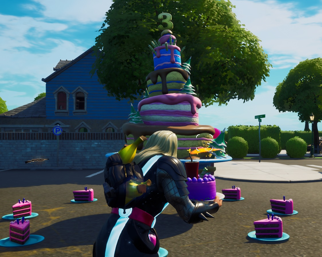 Fortnite Birthday Challenges Where To Find All The Birthday Cakes Vg247