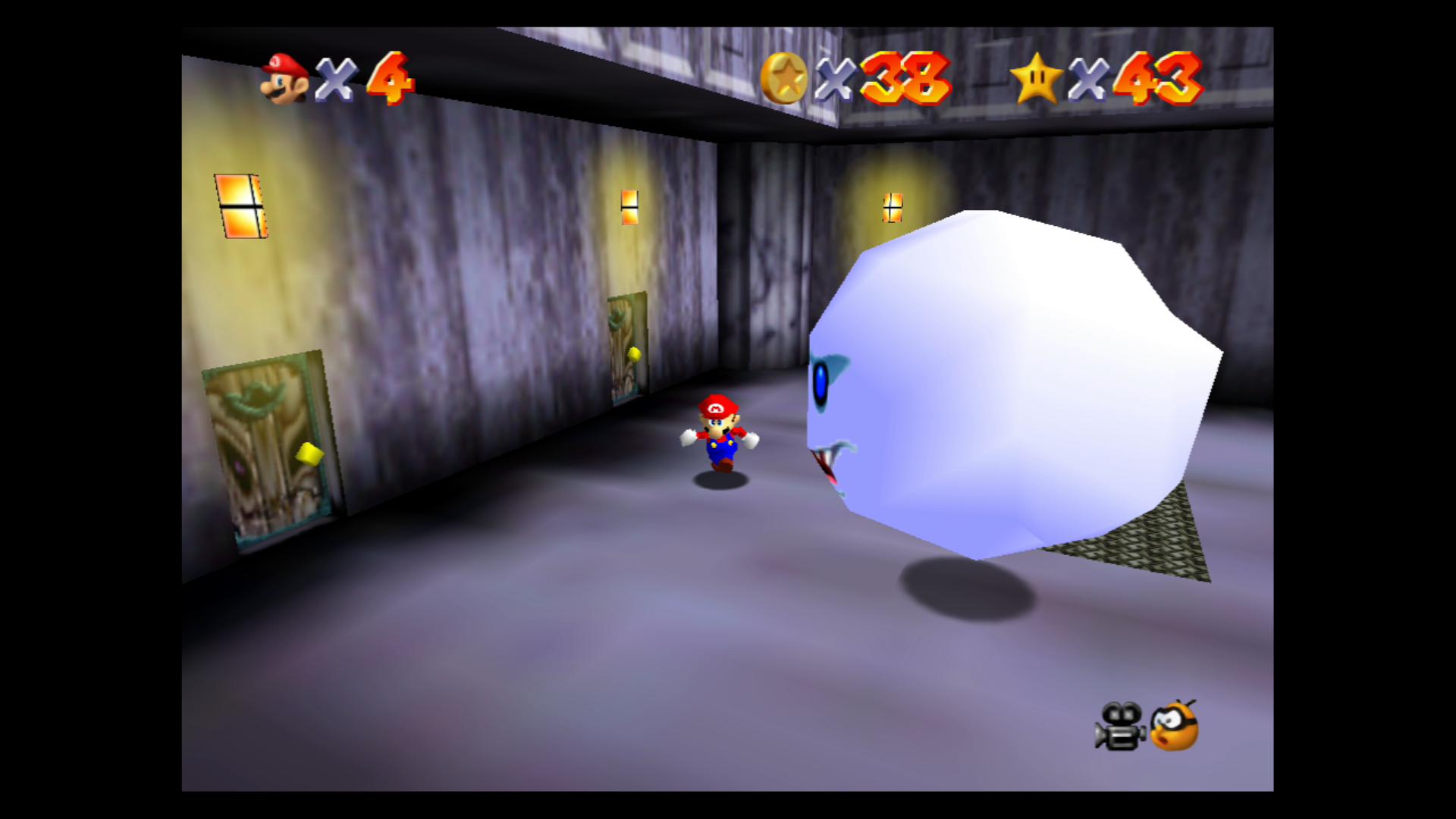 Super Mario 64: Big Boo's Haunt Stars - VG247