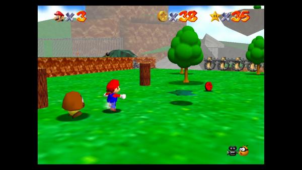 Bob-Omb Battlefield Super Mario 64