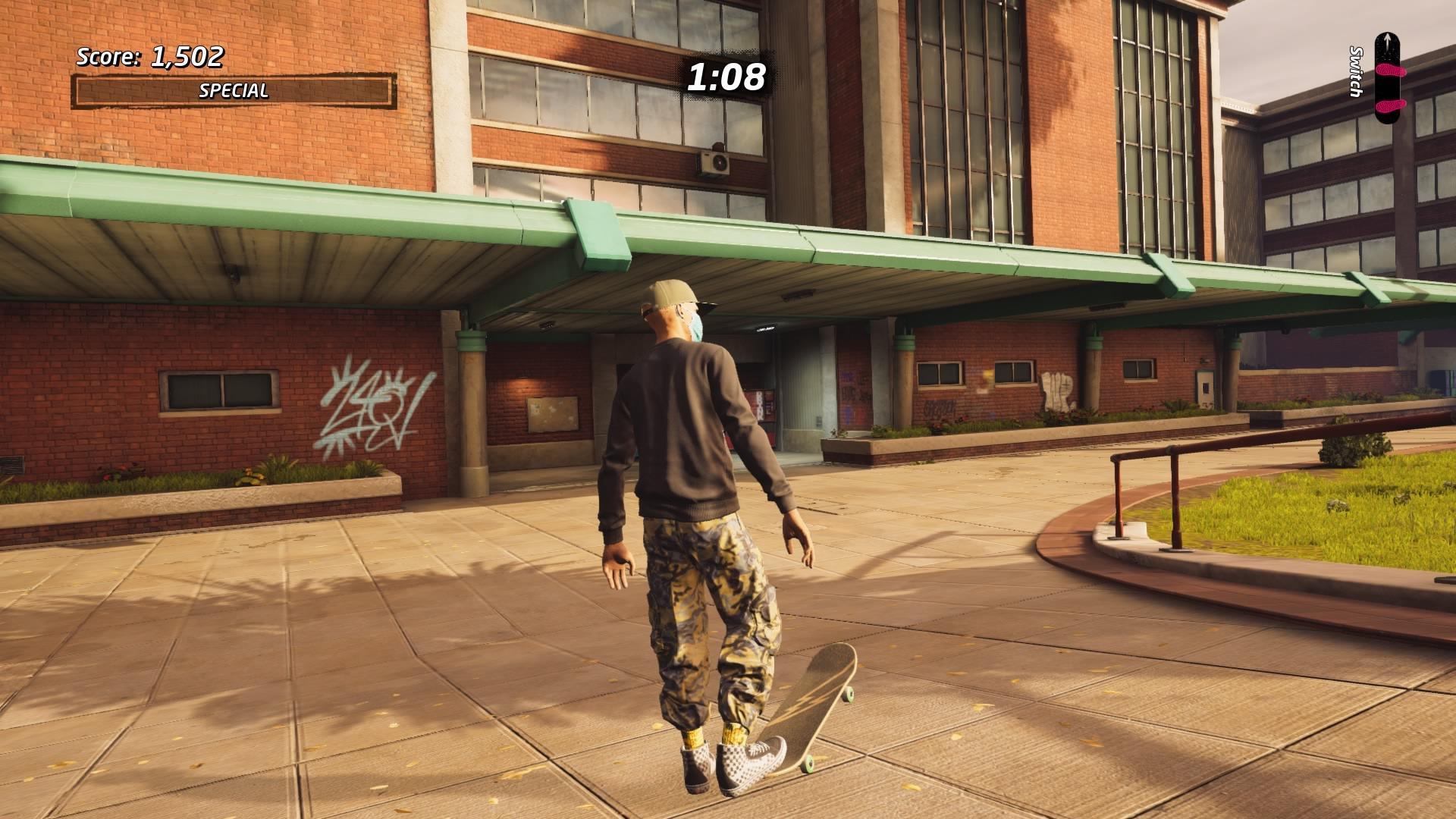 Tony Hawk's Pro Skate 1 + 2 in-game sreenshot