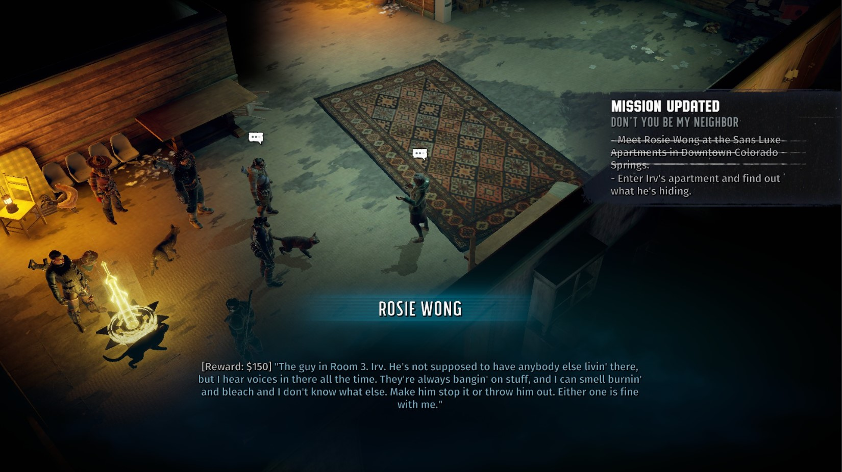 Wasteland 3 Don't You Be My Neighbour Quest – How to enter Irv's apartment thumbnail