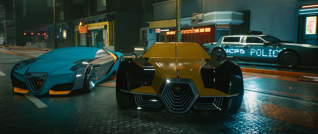 Check out the vehicles you'll see in Cyberpunk 2077 thumbnail