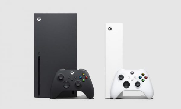 The Xbox Series X and Xbox Series S side by side
