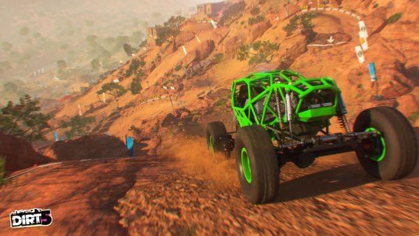 Dirt 5 screenshot Pathfinder event buggy.