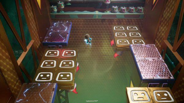Sackboy PS5 screenshot platforming.