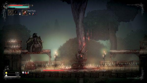 Salt and Sanctuary in-game screenshot.