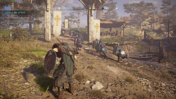 Assassin's Creed Valhalla gameplay