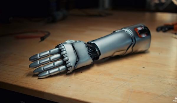 Cyberpunk 2077 prosthetic
