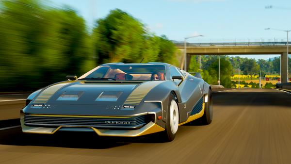 Cyberpunk car in Forza Horizon 4