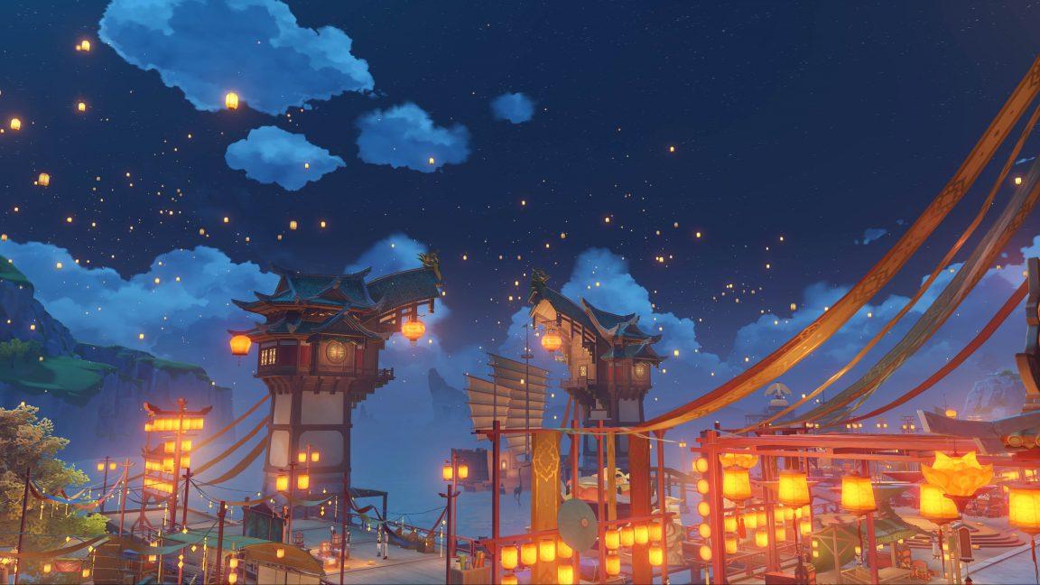Genshin Impact lantern rite a