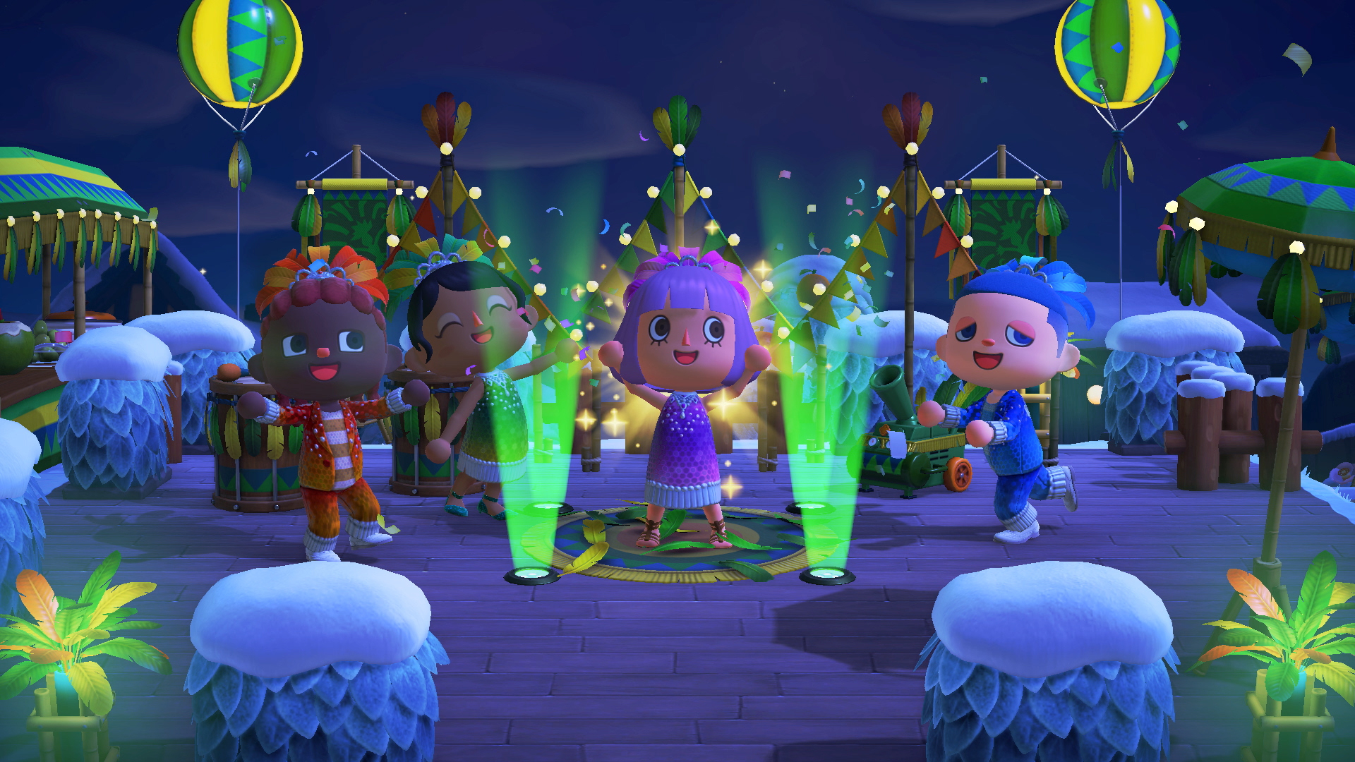 Animal Crossing: New Horizons' free January update will get you in the carnival spirit