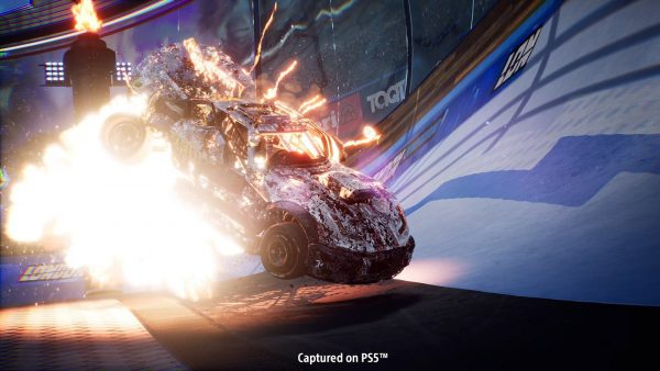 Destruction AllStars PS5 car screenshot.