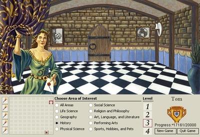 Mindmaze in Encarta 95.