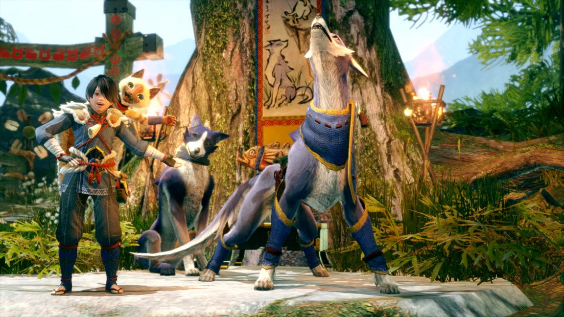 Monster Hunter Rise trailer shows off new monsters, wyvern riding, new locales