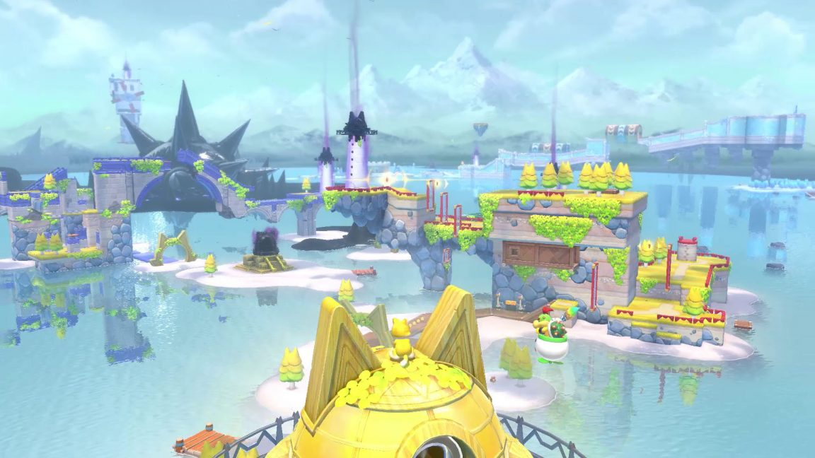 Check out the Super Mario 3D World + Bowser's Fury trailer