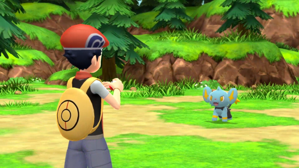 Pokémon Brilliant Diamond and Shining Pearl combat screenshot