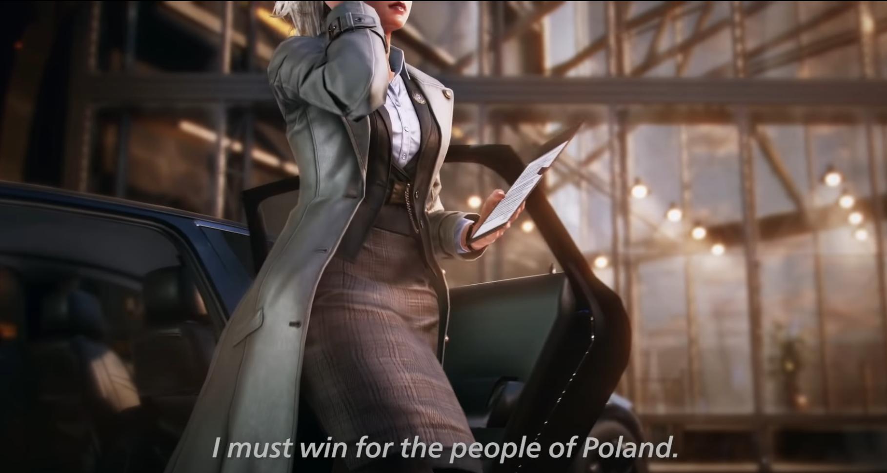 Bandai Namco is teasing a Polish Tekken 7 DLC character - VG247