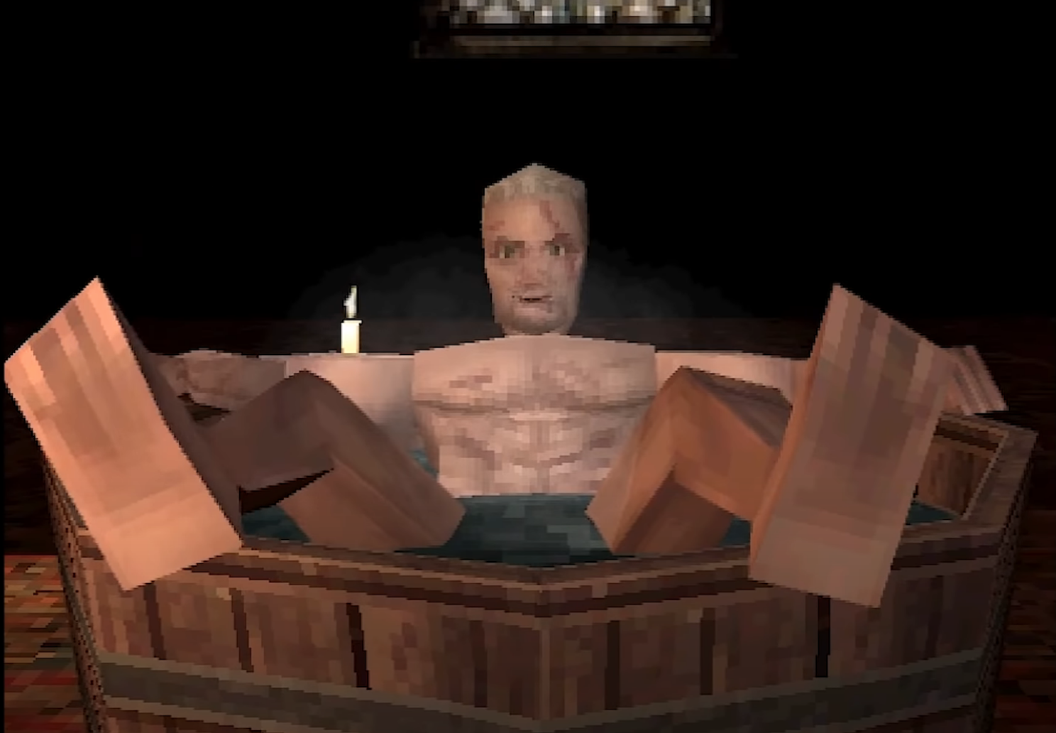 Check out this PS1 demake of The Witcher 3