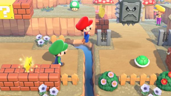 Animal Crossing Mario How To Get, Super Mario Furniture Animal Crossing