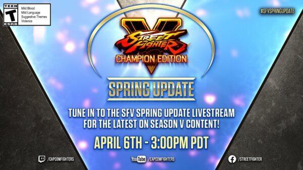 Street Fighter 5 Spring 2021
