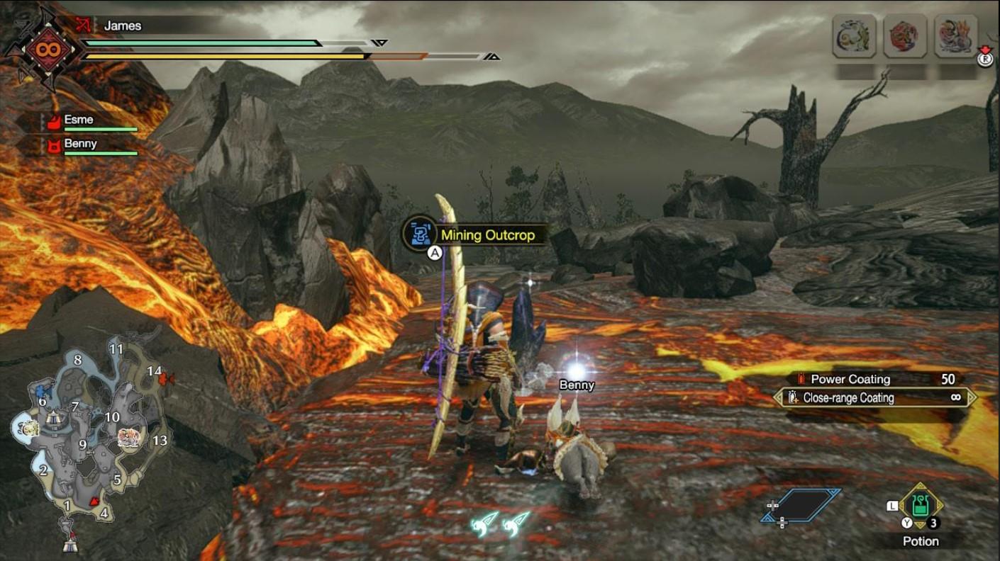 monster hunter rise dragonite ore locations 1