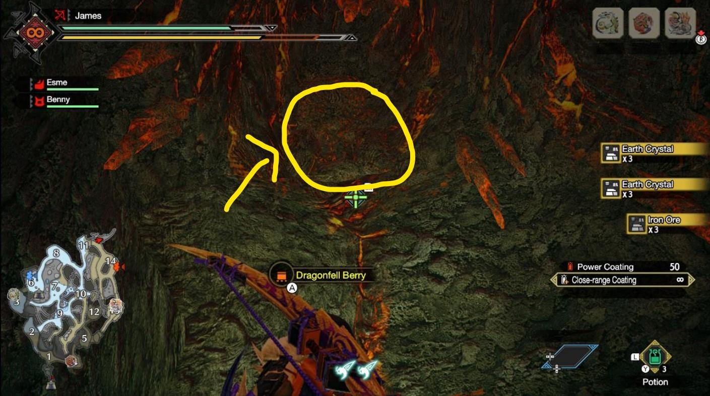 monster hunter rise dragonite ore locations 4