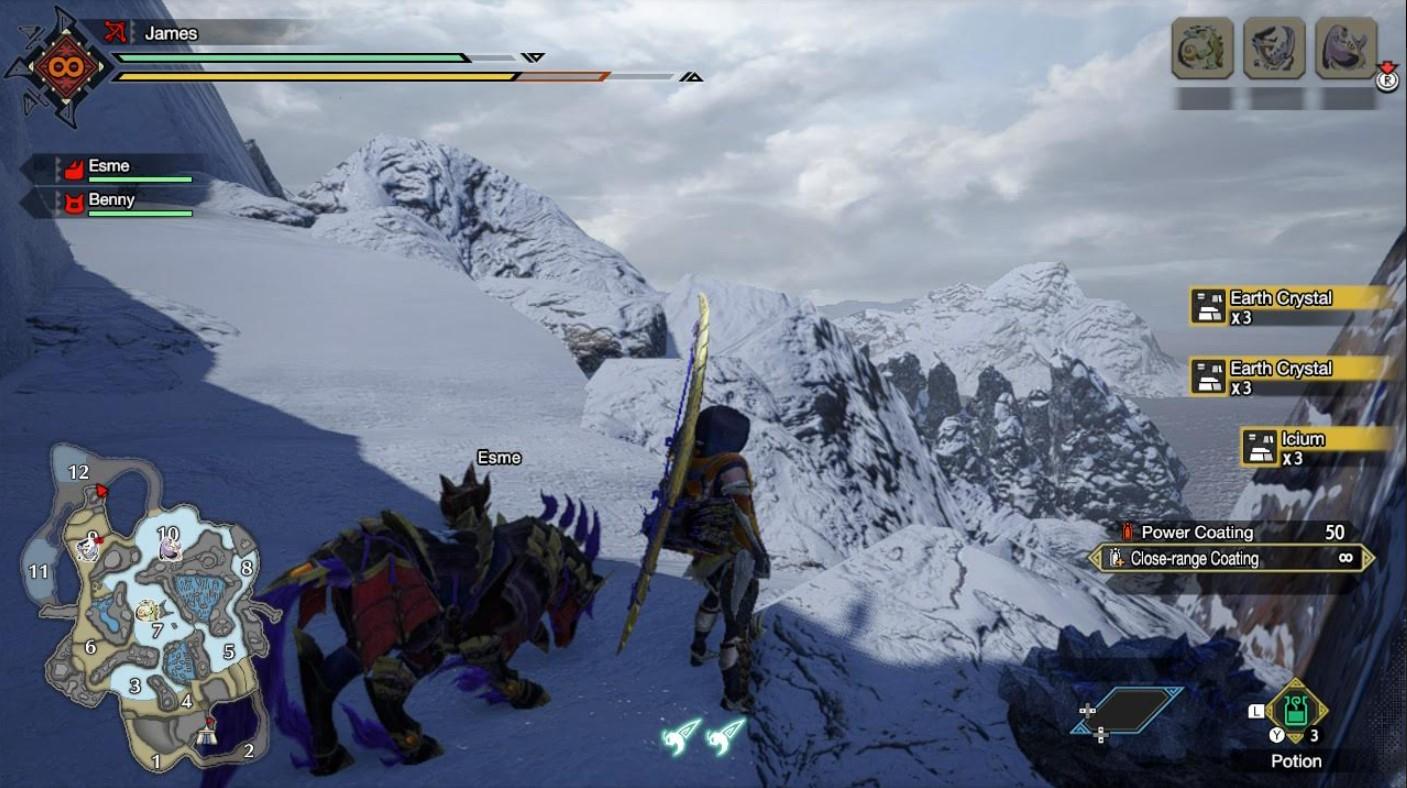 monster hunter rise icium locations 2