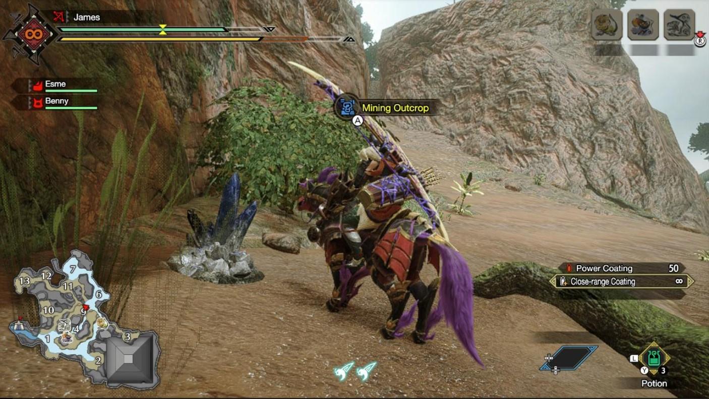 monster hunter rise lightcrystal locations 1