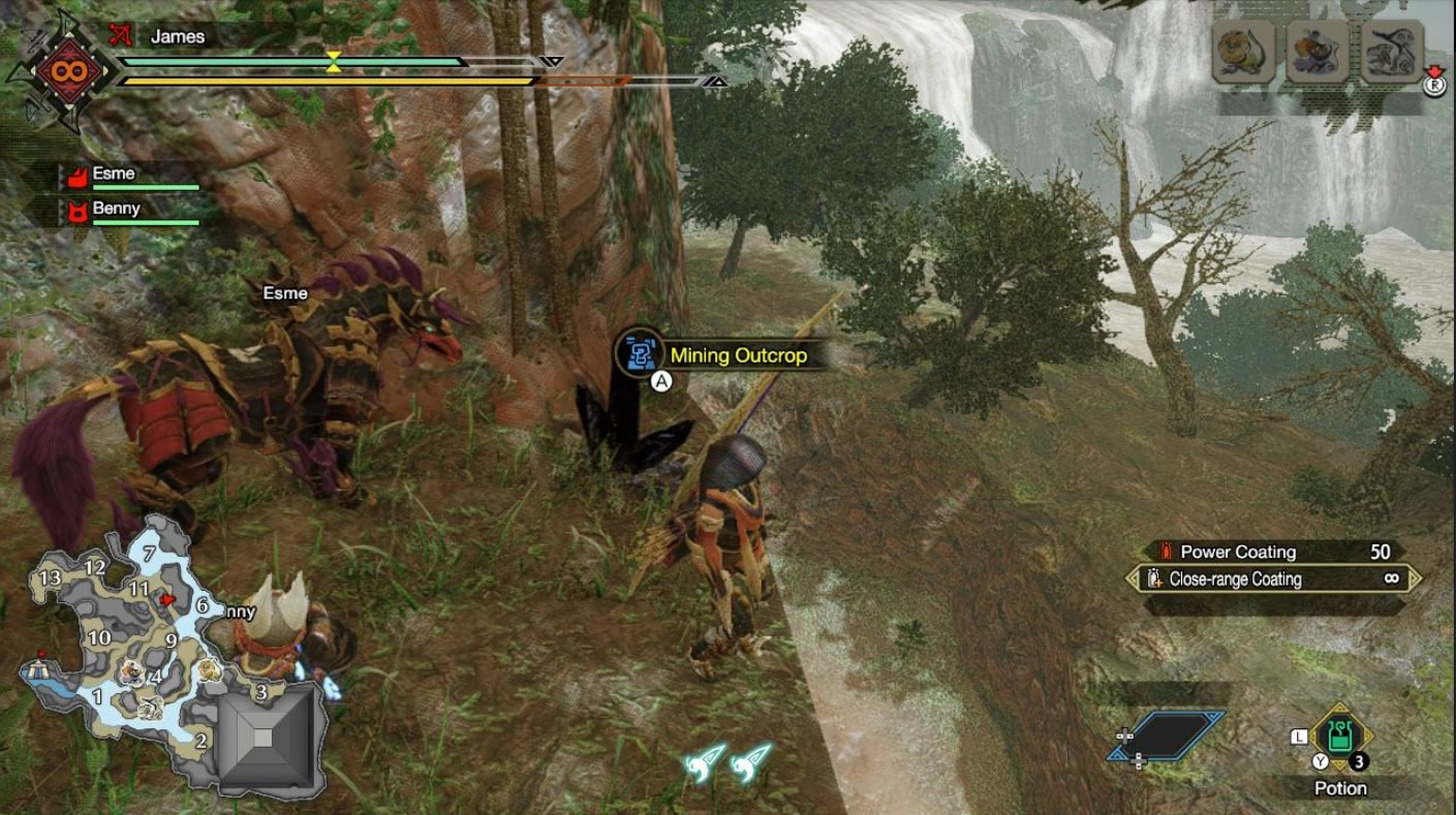 monster hunter rise lightcrystal locations 2
