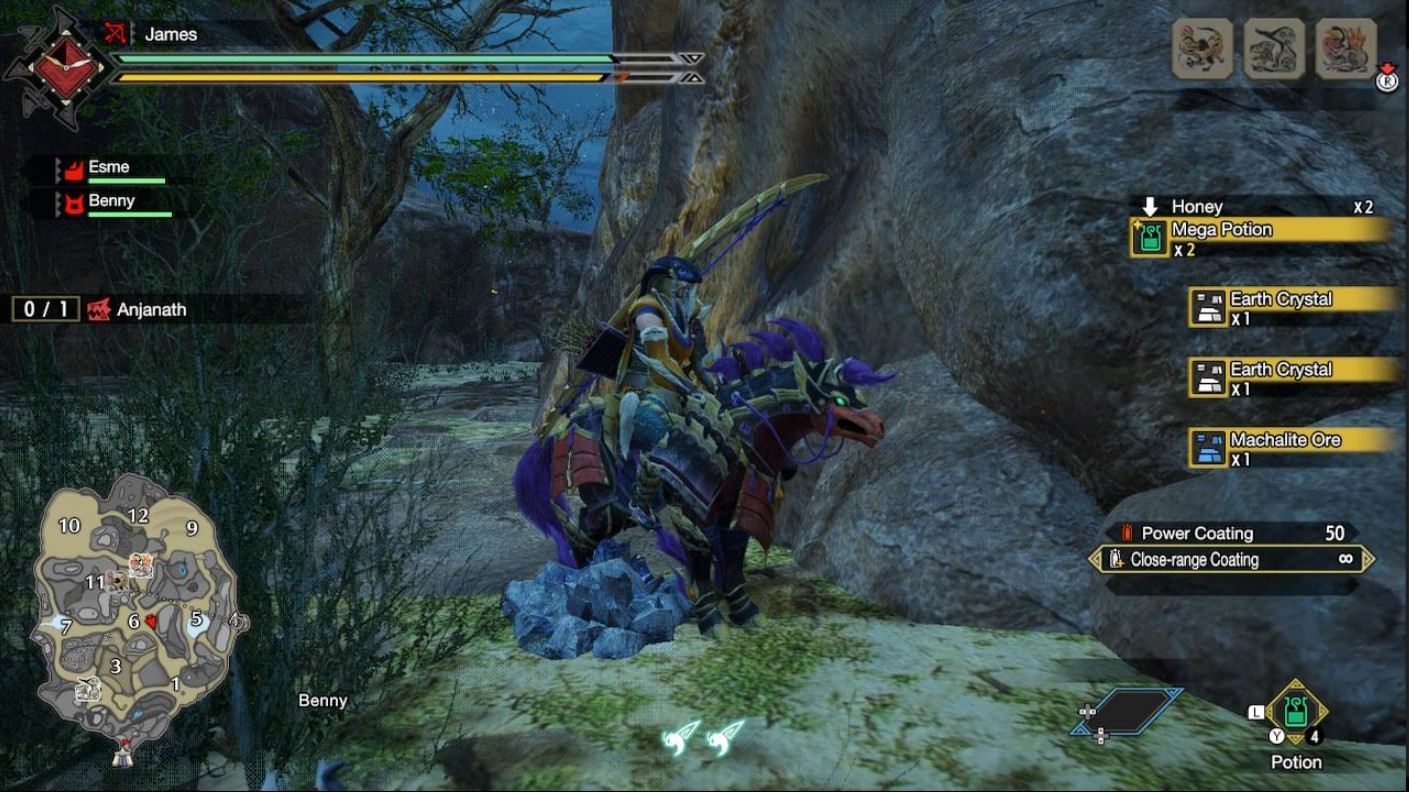 monster hunter rise machalite ore sandy plains
