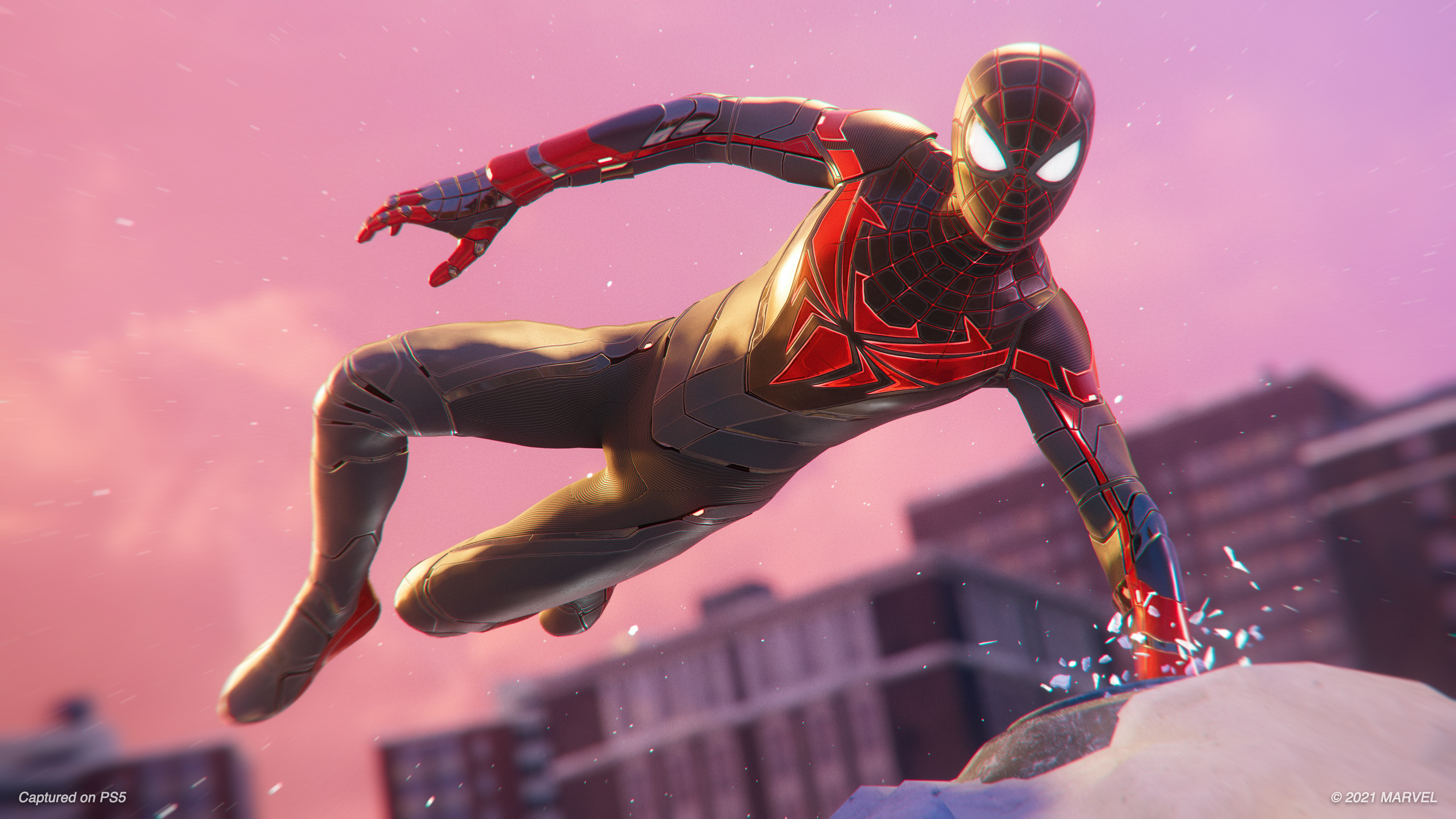 Spider-Man: Miles Morales update adds new suit and realistic muscle deformation - VG247