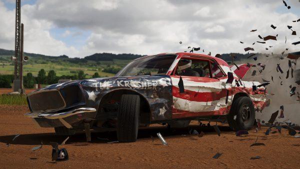 Wreckfest PS5 upgrade