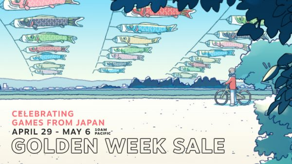 The Steam Golden Week sale has kicked off, runs through May 6