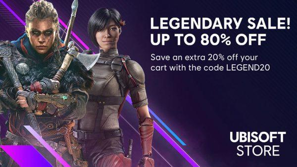 Ubisoft Legendary Sale