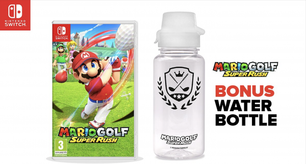 Mario Golf Water Bottle Pre-Order