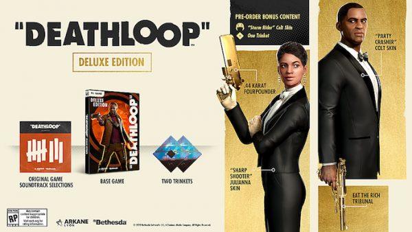 Deathloop Deluxe Edition bonus items