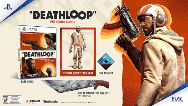 Deathloop pre-order bonuses