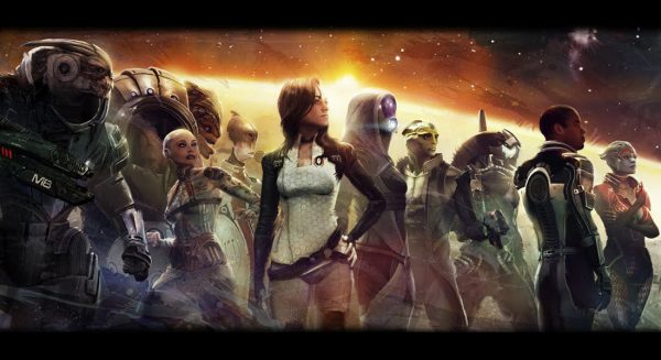 Mass Effect 2 characters