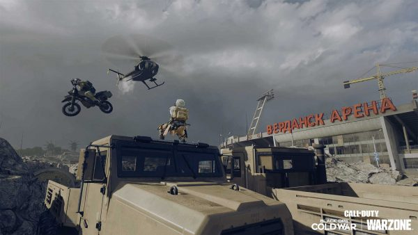 Call of Duty Warzone and Black Ops Cold War Season 4 Motocross
