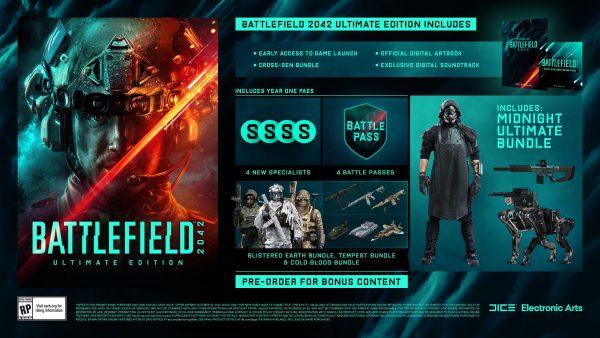 Battlefield 2042 ultimate edition pre-order