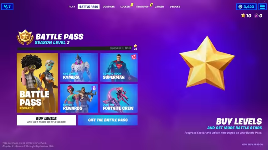 How To Claim Free Tiers Fortnite Fortnite Season 7 Battle Stars How To Redeem All Battle Pass Content Vg247
