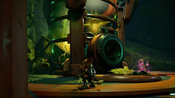 Ratchet & Clank Rift Apart Ardolis Gold Bolt 2 location screenshot